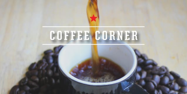 Coffee Corner | Coffee + Water Quality