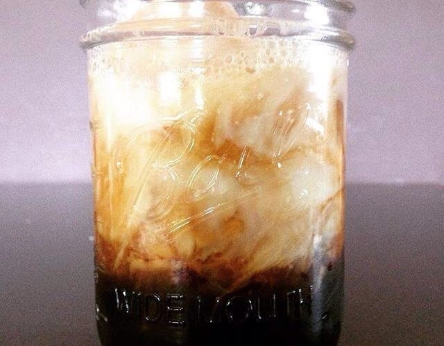 Coffee Recipe | Bourbon Iced Coffee Cocktail